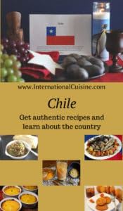 a picture representing food and culture of Chile