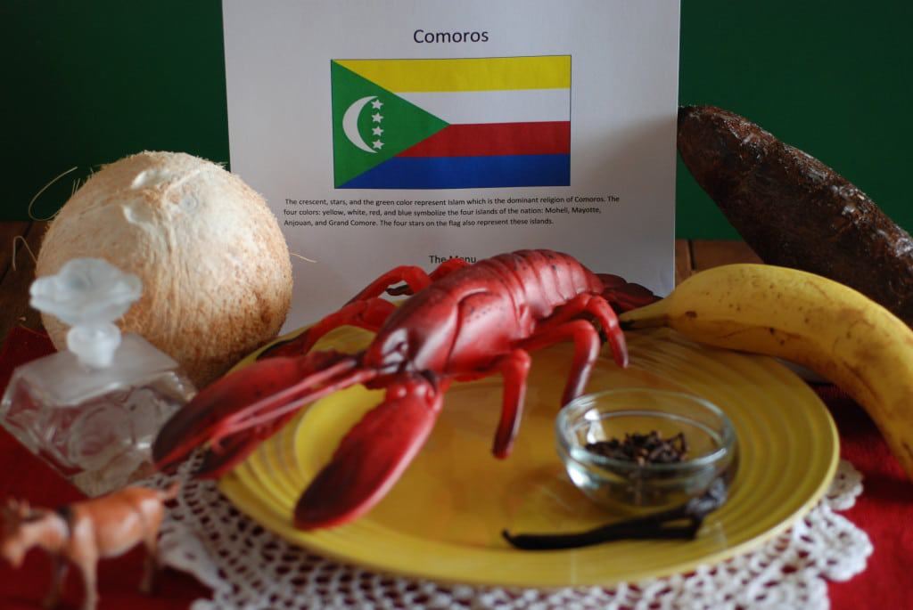 About food and Culture of Comoros