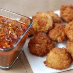 Congo Akara with Dipping Sauce