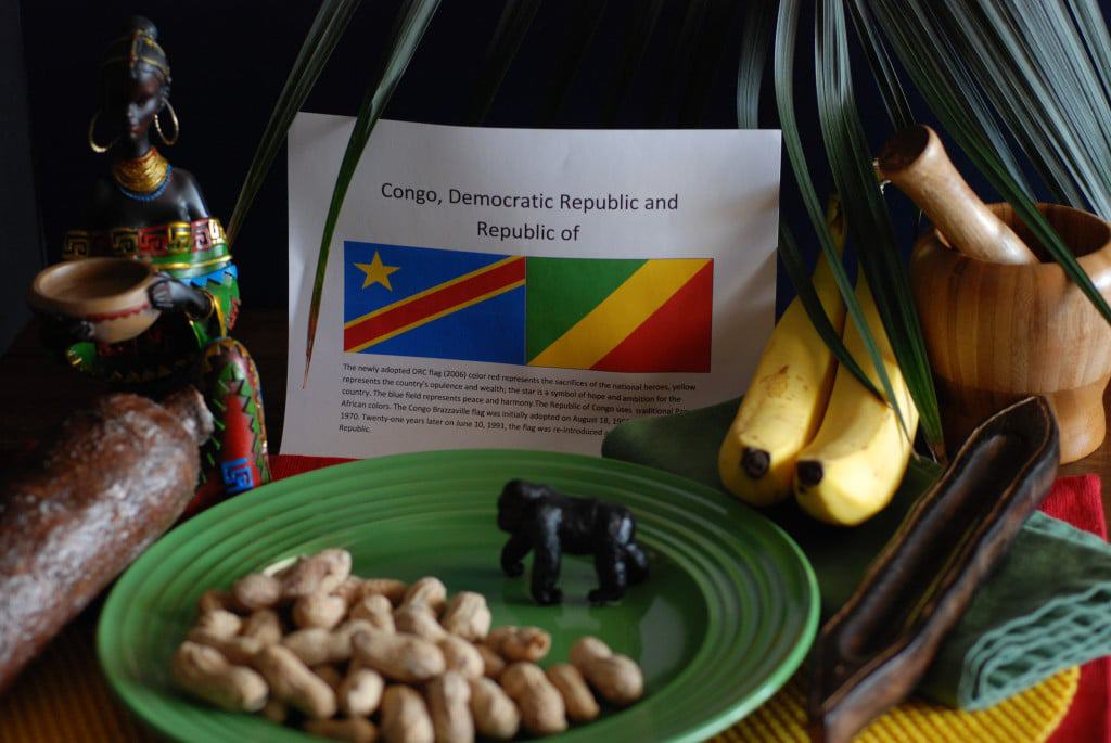 About food and culture of the Congo