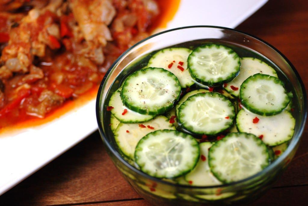 Cote D' Ivoire Cucumber salad