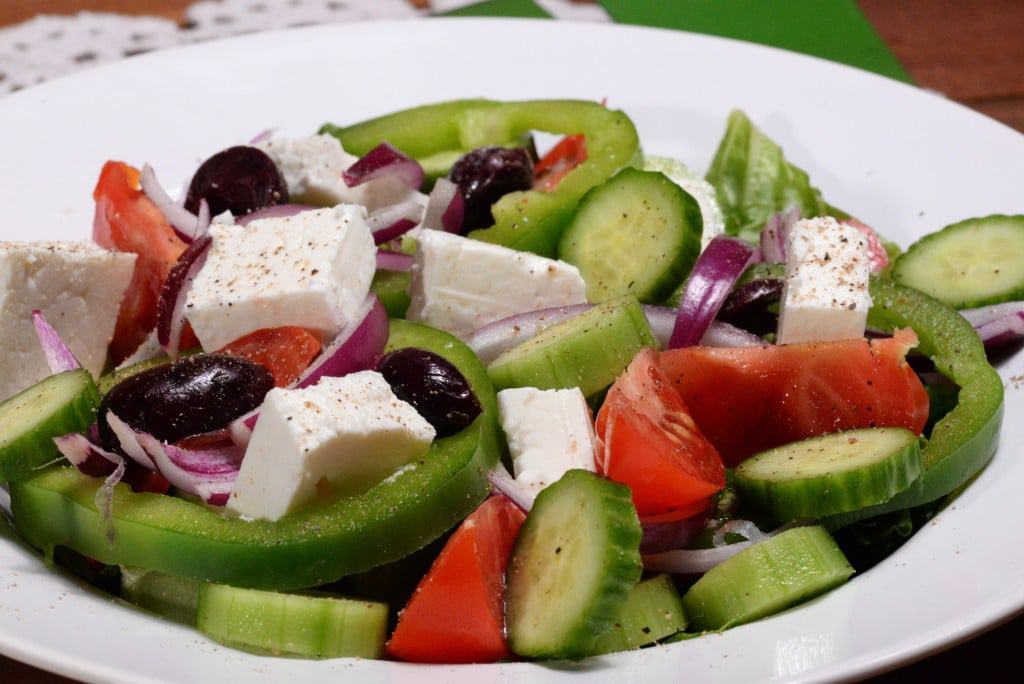 Cyprus village salad