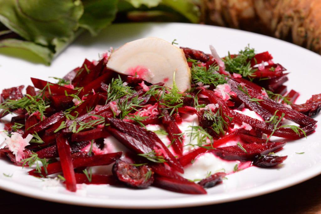 Denmark beetroot salad