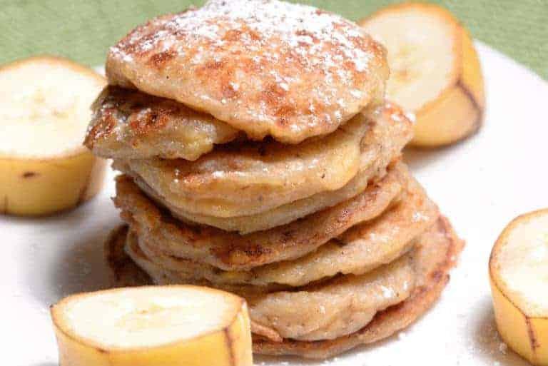 Djibouti Banana Fritters International Cuisine