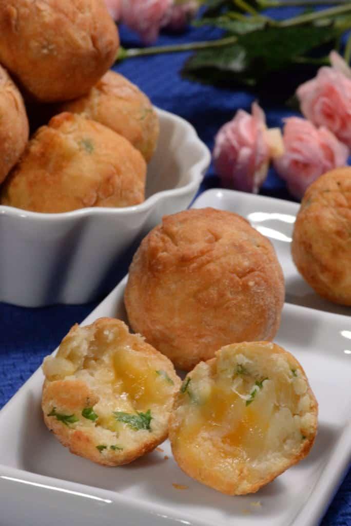 Dominican Republic cheese balls