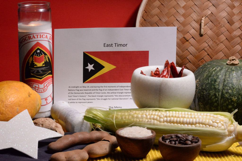 About food and culture of East Timor