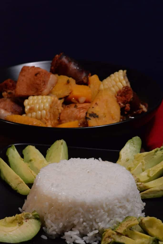 Sancocho Side Dishes