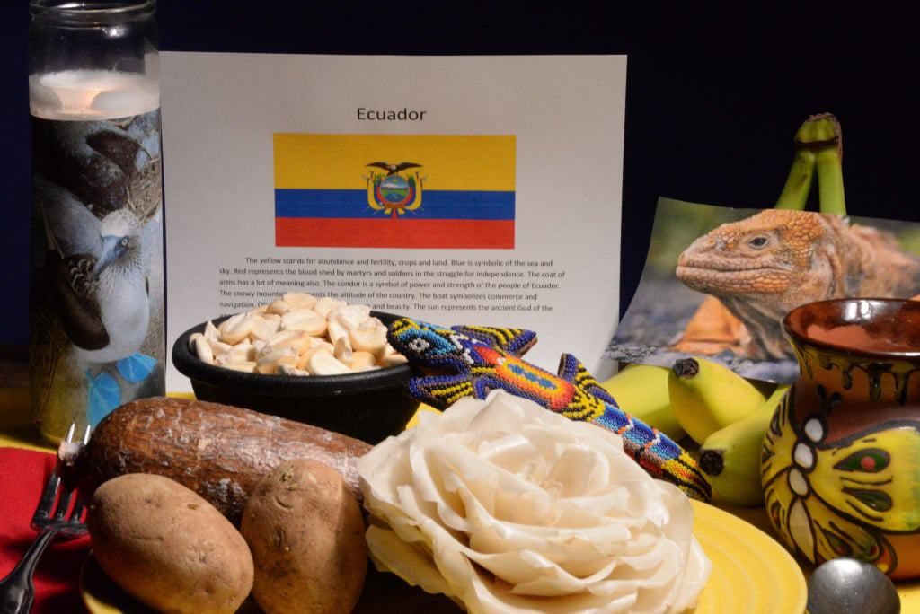 About food and culture of Ecuador
