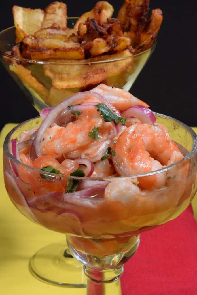 Ecuador shrimp ceviche
