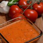A big bowl of El Salvador salsa