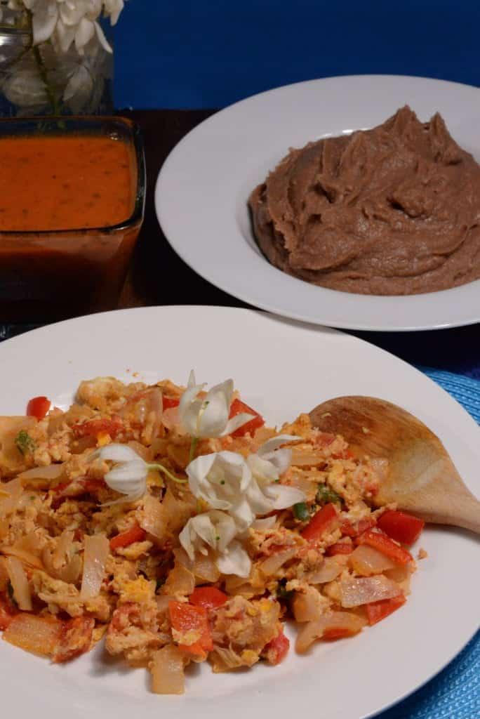 El Salvador Refried Beans International Cuisine