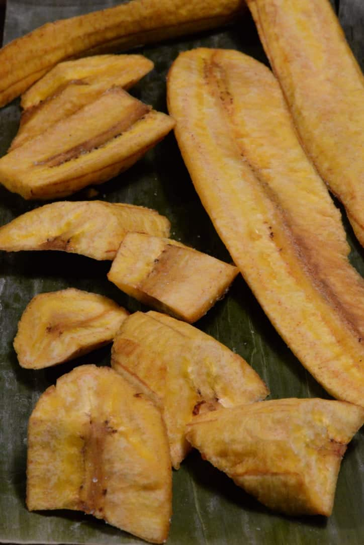 Congo Fried Plantains International Cuisine