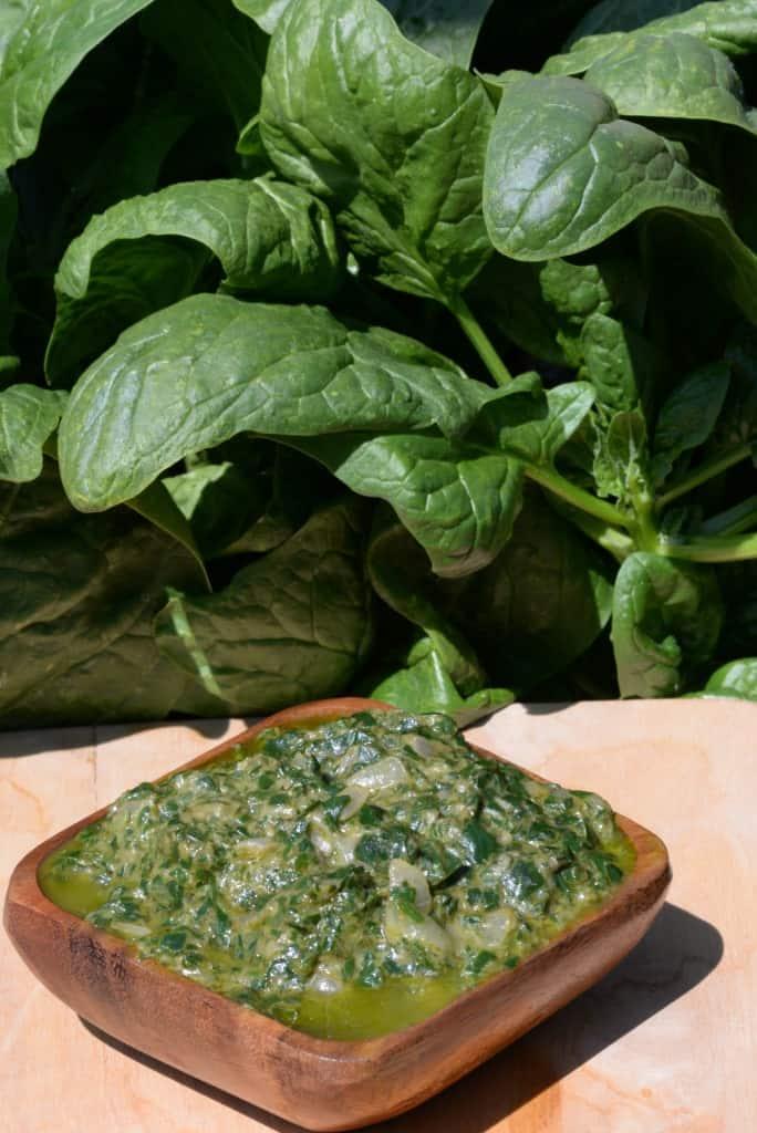 Equatorial Guinea Spinach Sauce