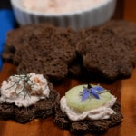 Estonia salmon cheese pate