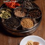 Ingredients for Berbere seasoning
