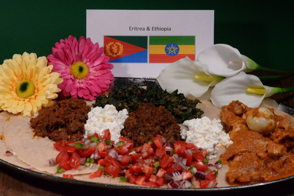 About food and culture of Eritrea and Ethiopia