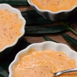 Guyana baked vanilla custard