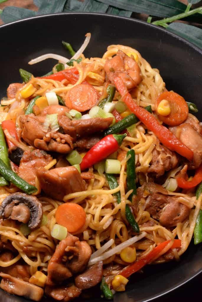 Guyana Chicken Chow mein