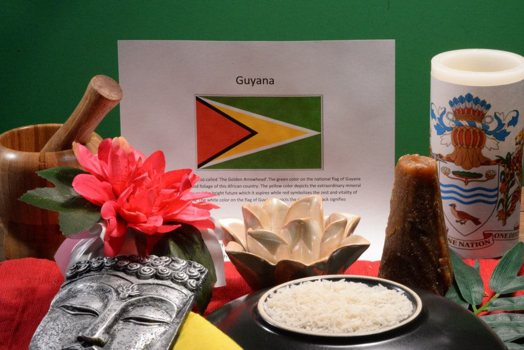 About food and culture of Guyana