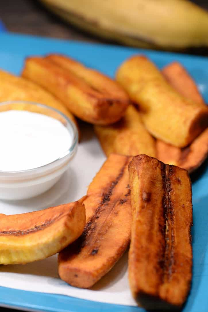 Honduran Platanos Fritos Fried Banana International Cuisine