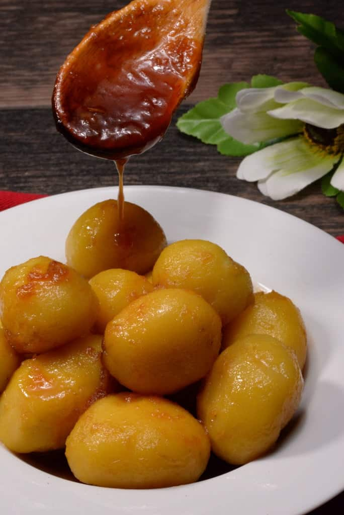 Icelandic caramelized potatoes