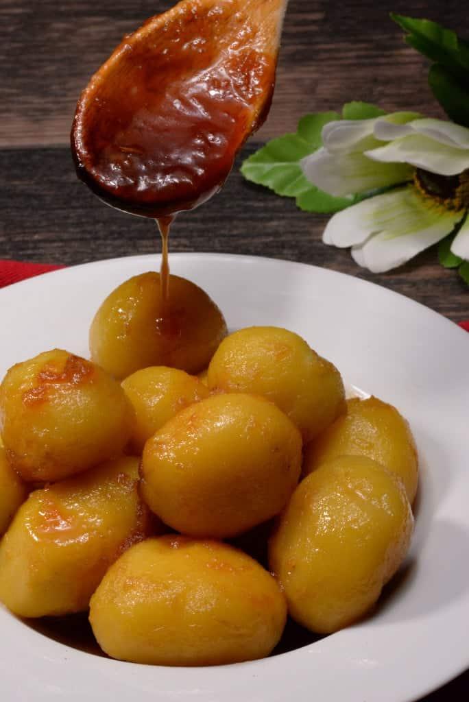 Icelandic caramelized potatoes