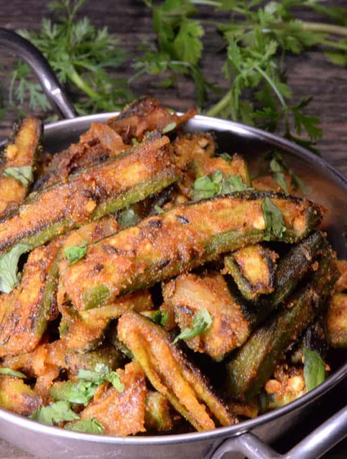 Indian Bhindi masala