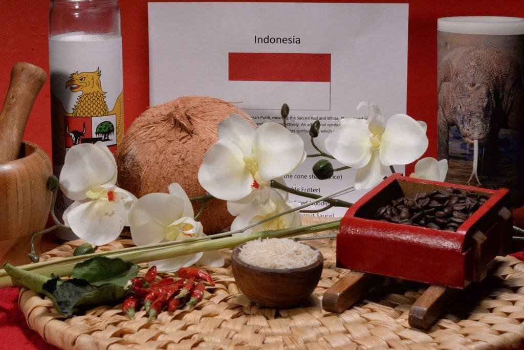 About food and culture of Indonesia