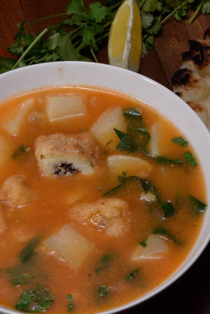 Iraqi Turnip soup