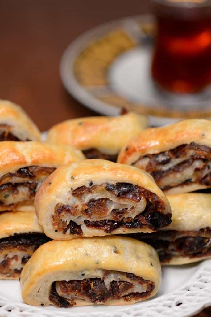 Iraqi date cookies