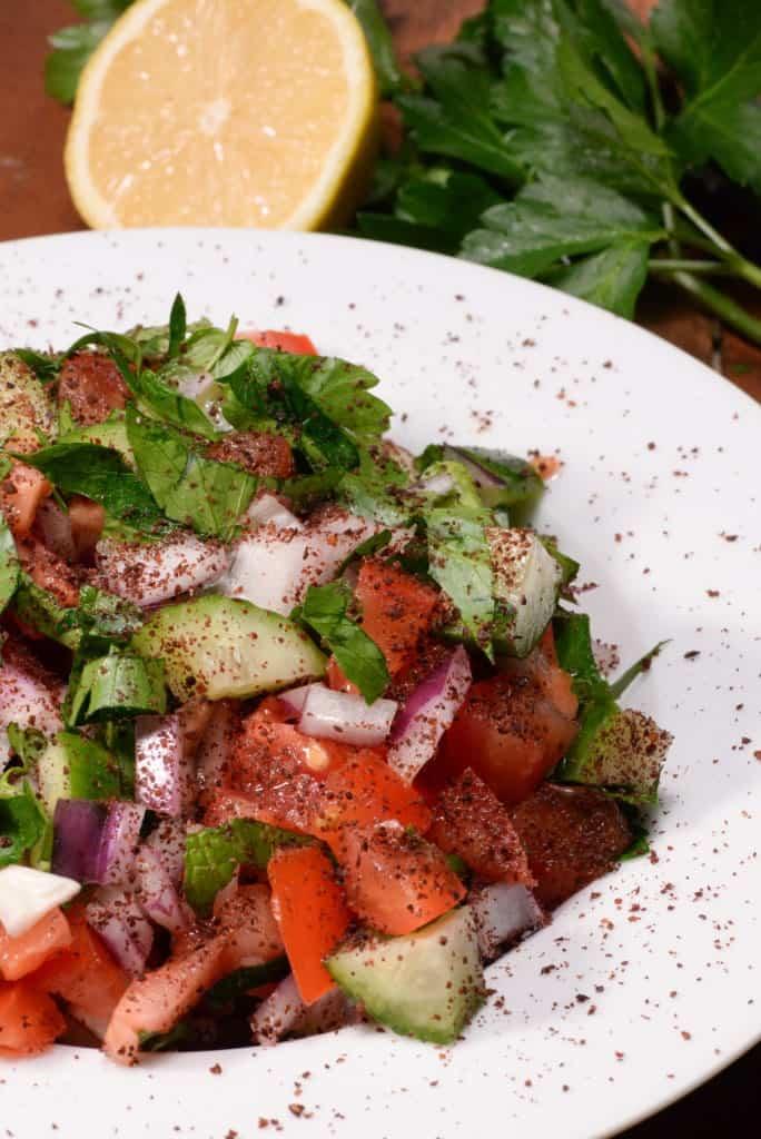 Iraqi sumac salad