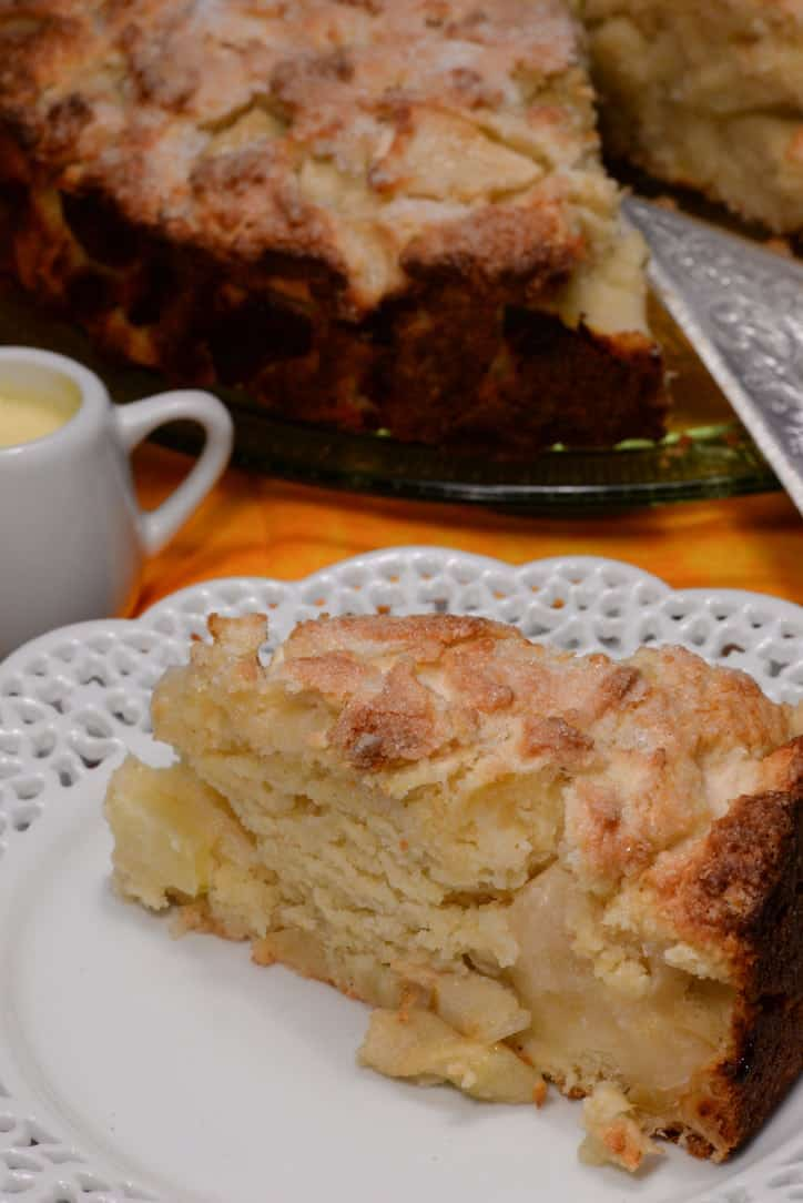 Bramley Apple Sauce Cake