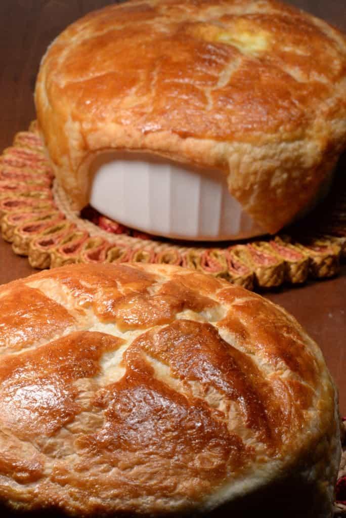 Irish meat and guinness pie