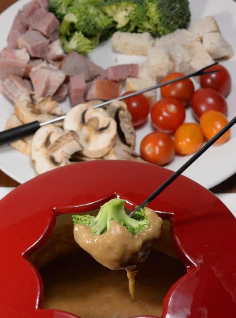 Irish stout fondue