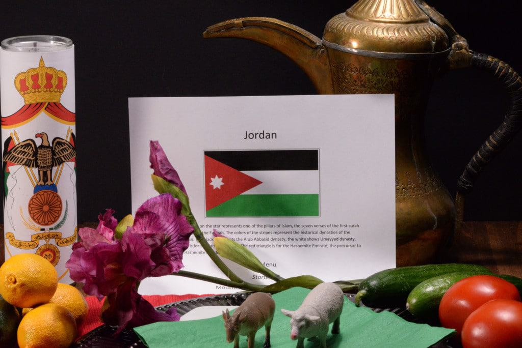 About food and culture of Jordan