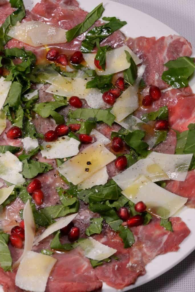 Italian Beef Carpaccio