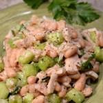 Italian tuna cannellini salad