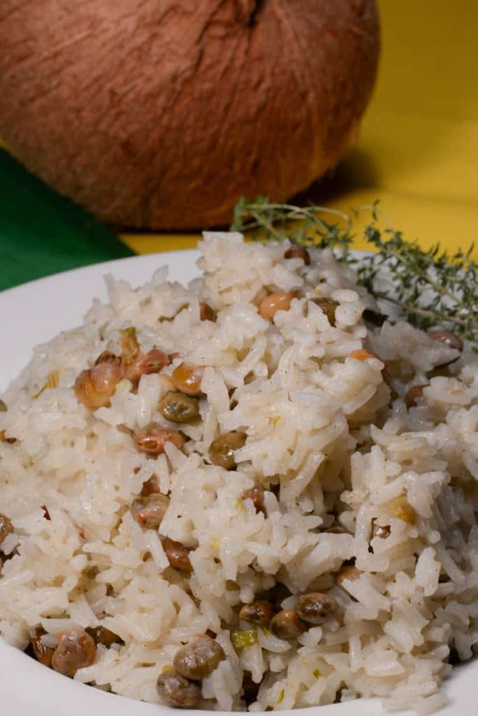 Jamaican coconut rice