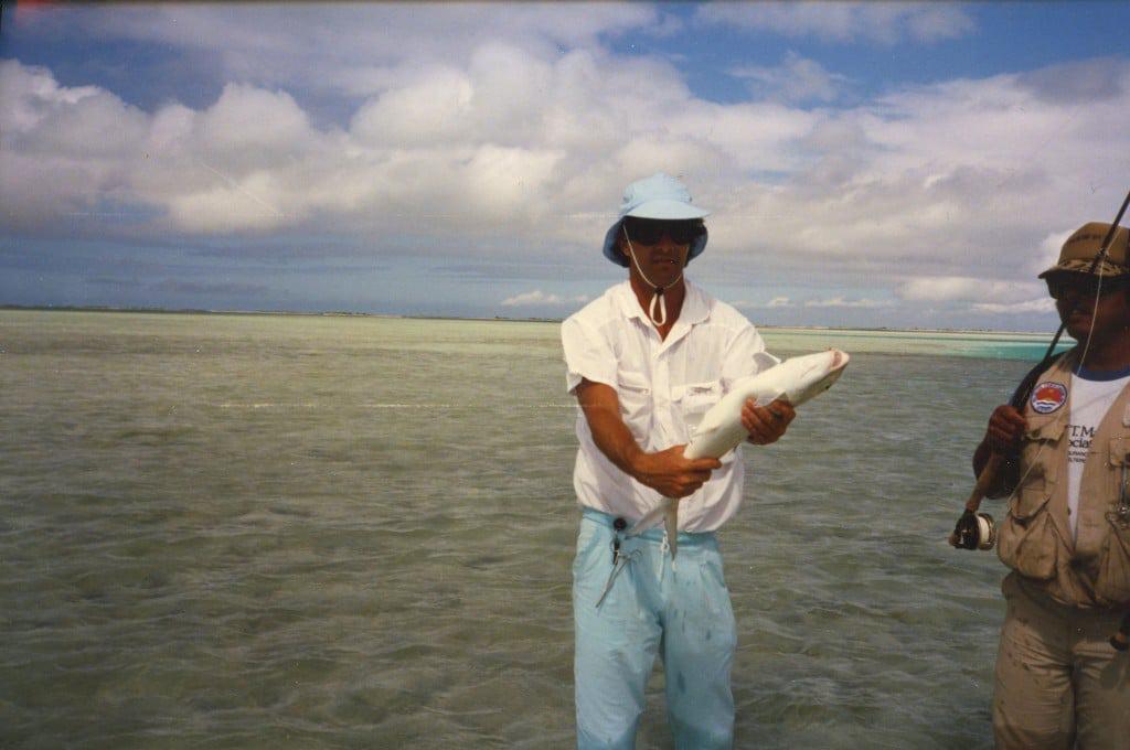 Christmas Island bone fishing