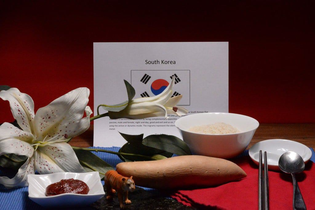 About food and culture of South Korea