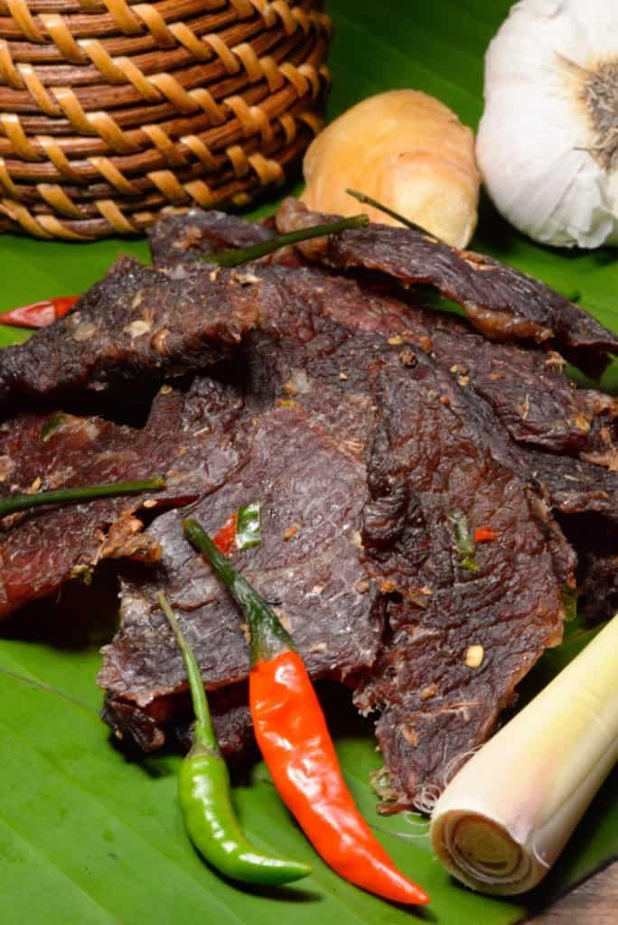 Laotian Beef Jerky