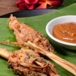 Laotian stuffed lemongrass