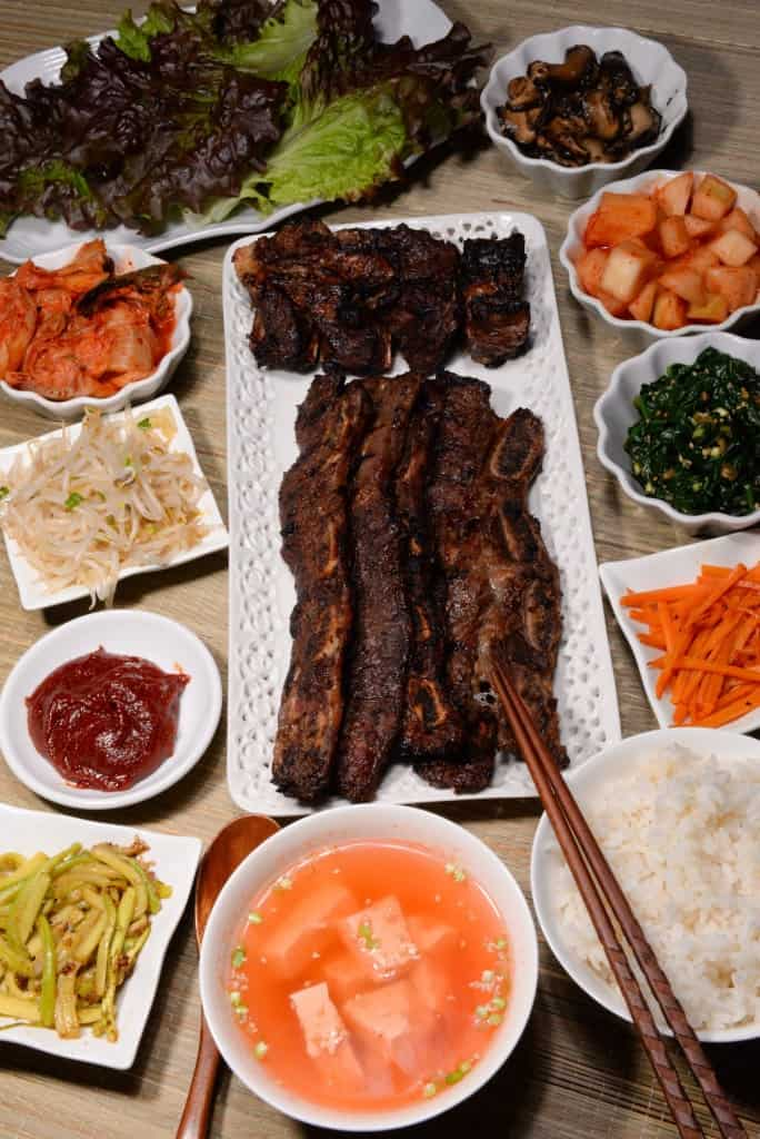 South Korean Banchan