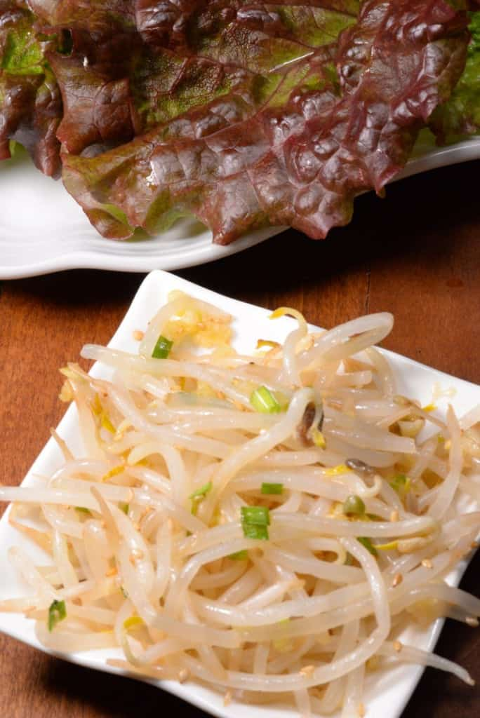 Seasoned bean sprouts