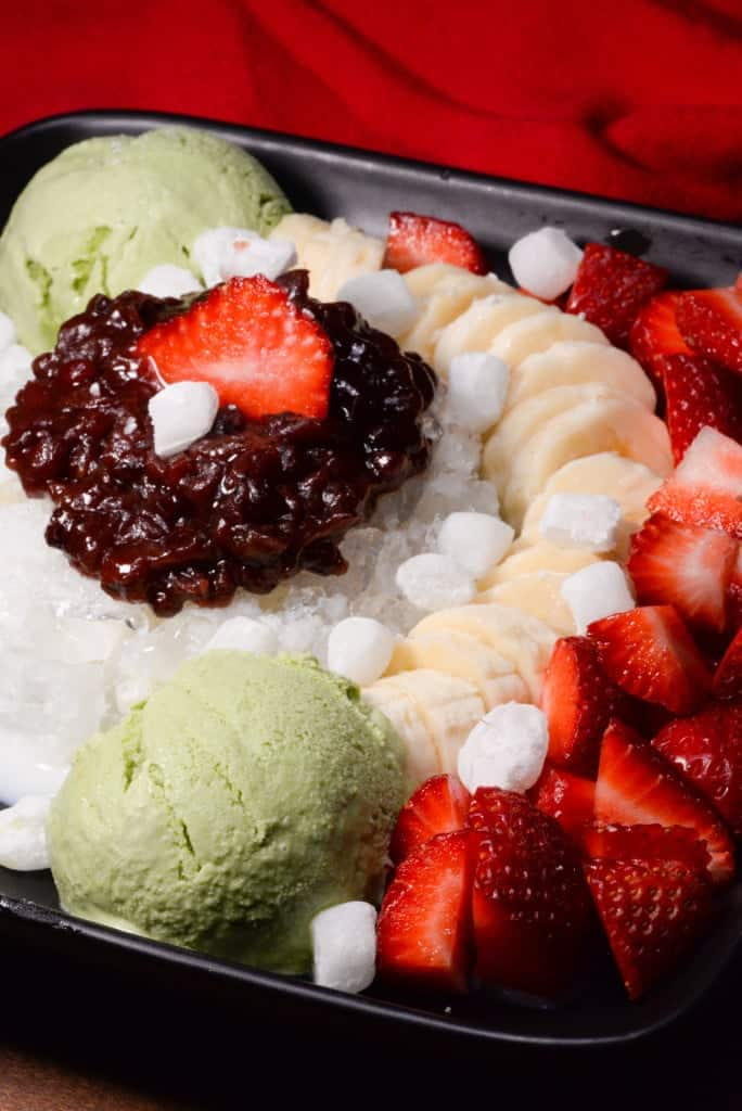 South Korean patbingsu