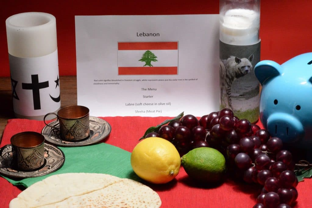 About food and culture of Lebanon