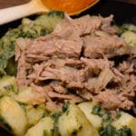 lesotho bashed beef with morongo potatoes