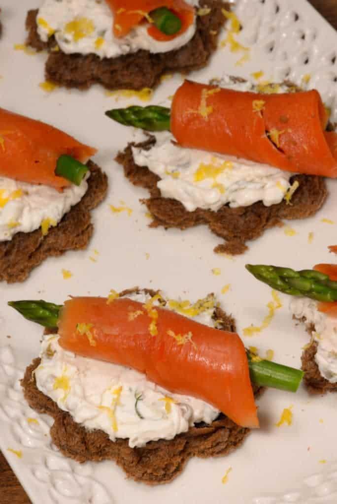 Liechtensteiner asparagus Appetizer