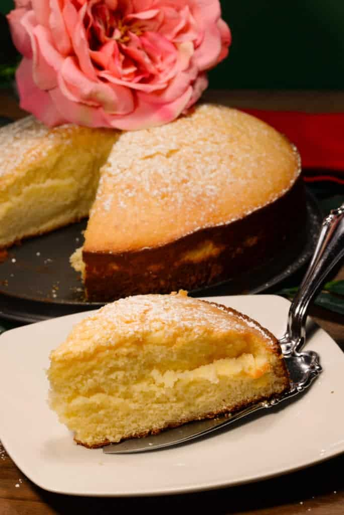 Maldivian sweetened condensed milk cake