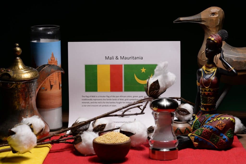 about food and culture of Mali and Mauritania